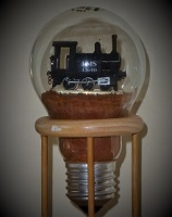 Locomotive in Bulb